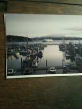 SMALL GREETING CARD WASHINGTON STATE FERRIES KALEETAN FRIDAY HARBOR WASHINGTON