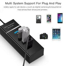 4 Port USB 3.0 Multi High Speed HUB Splitter Expansion Desktop Laptop PC Max OS*