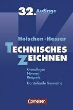 Technisches Zeichnen: Grundlagen, Normen, Beispiele, Dar... | Buch | Zustand gut