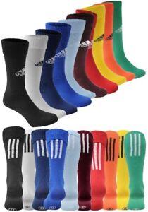 ✅ adidas Santos 3-Stripe Stutzen Fussball Socken Gr. 31-48 Kinder Herren Damen