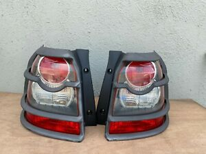 2008-2010 LAND ROVER LR2 OEM TAILLIGHTS W/ PROTECT GUARD PAIR LEFT & RIGHT