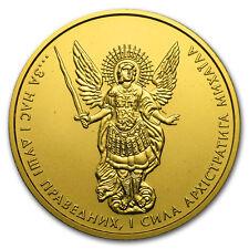 2016 Ukraine 1 oz Gold Archangel Michael BU - SKU#105093
