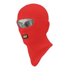 OMP Karting Open Face Balaclava Red - One Size
