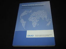 DAAD - Studium, Forschung, Lehre im Ausland - 2015/2016  Förderungsmöglichkeiten