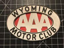 Wyoming Motor Club Car Badge