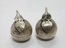 2 pieces betel nut box cambodia silver / 2 Betel Nuß Dosen silber #1