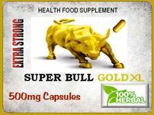 SUPER BULL XL GOLD 500mg  HIGHEST QUALITY HERBAL V CAPSULES
