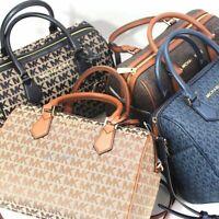 New Michael Kors Bedford Large Duffle Satchel Crossbody Handbag