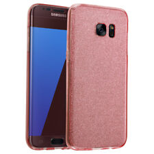 Cover Case Ultra Thin Slim 360 TPU GEL Skin Pouch for Samsung Galaxy S8 S6 Edge Rose Gold J5 (2016)
