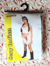 Adult Woman's Costume  Sexy Indian