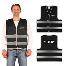 "easyMesh® Signalweste ""SECURITY"" Warnweste Schwarz (Unisize) XL/XXL"
