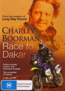 Race To Dakar ( DVD, 2 Disc ) Charley Boorman - 6 HOURS !! Complete Series - ALL