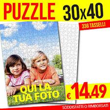 PUZZLE CON FOTO 30x40 PERSONALIZZATO FOTO PUZZLE 336 TASSELLI
