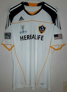 LA Galaxy adidas MLS Cup Final 2011 David Beckham Home Soccer Jersey