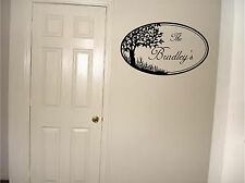 Personalized Family Name Wall Sticker Wall Art Decor Vinyl Decal Mural Stickers