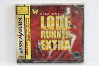 Lode Runner Extra NEW Factory Sealed Sega Saturn SS Japan Import US Seller G5449