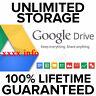 gsuite lifetime UNLIMITED google drive / GDrive [custom account] [not .edu]