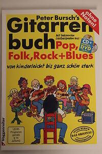Peter Bursch's Gitarrenbuch 1 +CD+DVD*FREIHAUS*100x verkauft NEUE AUFLAGE 26,95€