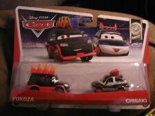 DISNEY CARS TUNERS SERIES 2 PACK YOKOZA & CHISAKI