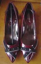 NEUF, SUPERBES chaussures CAFE NOIR cuir pointure 40