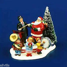 SANTA COMES TO TOWN 1997 #54899 DEPT 56  SNOW VILLAGE LIMITED TO PRODUCTION YEAR