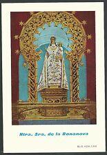 Estampa antigua Virgen de la Bonanova andachtsbild santino holy card santini