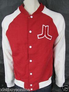 WeSC   Raglan Baseball Jacket Balker Candy Apple  WESC