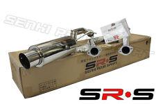 SRS CATBACK EXHAUST SYSTEM 02 03 04 05 06 07 LANCER RALLIART MITSUBISHI SR*S 2.4