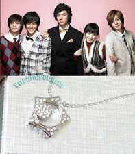 Korean TV Boys Before Over Flowers Star 18KGP Necklace Quality Made in Korea NEW