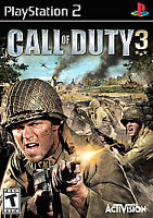 Call of Duty 3 - Playstation 2 PS2 Game - Complete & Tested