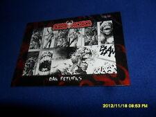 "2012 BREYGENT DEAD WORLD ZOMBIE CARD "" DAN RETURNS "" #11"