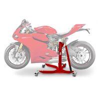 Motorrad Zentralständer ConStands Power Ducati 1299 Panigale 15-16 rot matt