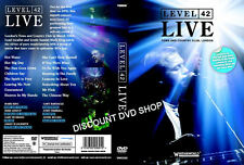 Level 42 Live Town and Country Club London. New DVD