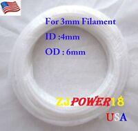 2 meters PTFE Teflon Tube For 3mm Filament for 3D Printer RepRap Rostock