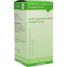 ACOIN Lidocainhydrochlorid 40 mg/ml   50 ml   PZN7788652