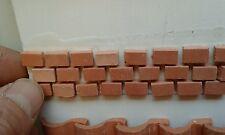 150 mattoni 7x10mm  terracotta minuterie presepe miniature nativity crib