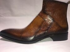 Jo Ghost Stiefel Cognac Made In Italy Echtes Leder