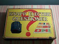 Vintage Knapp Electric Questioner #325