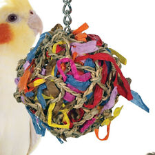55099 SMALL SUPER SHREDDER BALL BIRD TOY foraging cages birds toys parrot