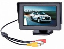BW 4.3 inch TFT LCD Car Monitor Car Reverse Parking Monitor with LED Backlight