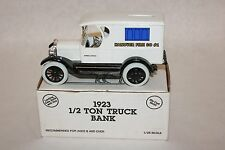 ERTL Chevrolet 1923 Delivery Van Coin Bank Hanover Fire Co #1 Ambulance
