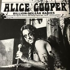 ALICE COOPER Billion Dollar Babies: Live San Diego 1979 - New Vinyl Lp