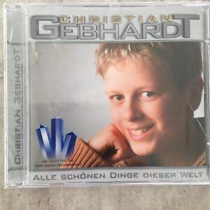 CHRISTIAN GEBHARDT: Alle schönen Dinge dieser Welt (CD ritt-sound 170.264 /OVP)