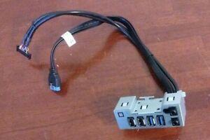 Dell Precision T3620 Front Input Output Audio USB Panel TJRVJ 0TJRVJ