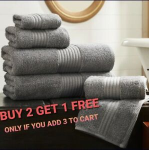 LUXURY 100% COTTON FACE HAND BATH TOWEL SHEET EGYPTIAN COTTON SOFT TOWELS
