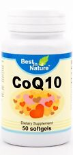 Best in Nature CoQ10(100 mg) 50 capsules