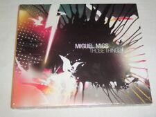 CD - Miguel Migs Those Things (2007) Digipak Sealed Neu OVP - S 1