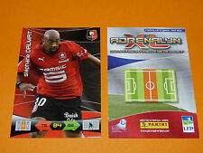 S. DALMAT ROAZHON STADE RENNES FOOTBALL FOOT ADRENALYN CARD PANINI 2010-2011