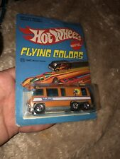 RARE 1976 Hot Wheels Palm Beach GMC Motor Home Orange Flying Colors - New in Box