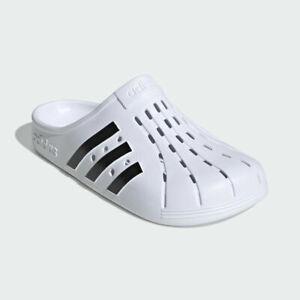Adidas Adilette Clogs Superstar White Black Slip-On Swim Clog Sandals (FY8970)